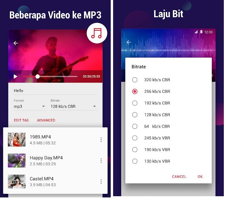 Aplikasi Android untuk dapat Convert Youtube ke MP3