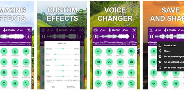 Voice Changer Sound Effect