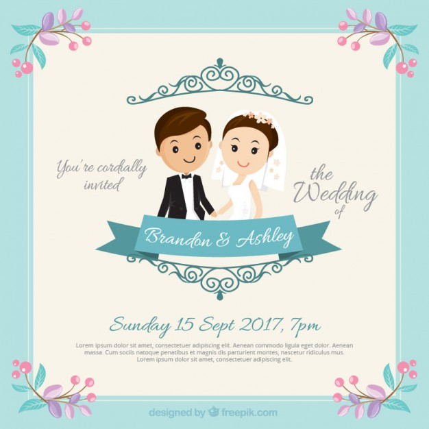 Download Desain Template Undangan Pernikahan