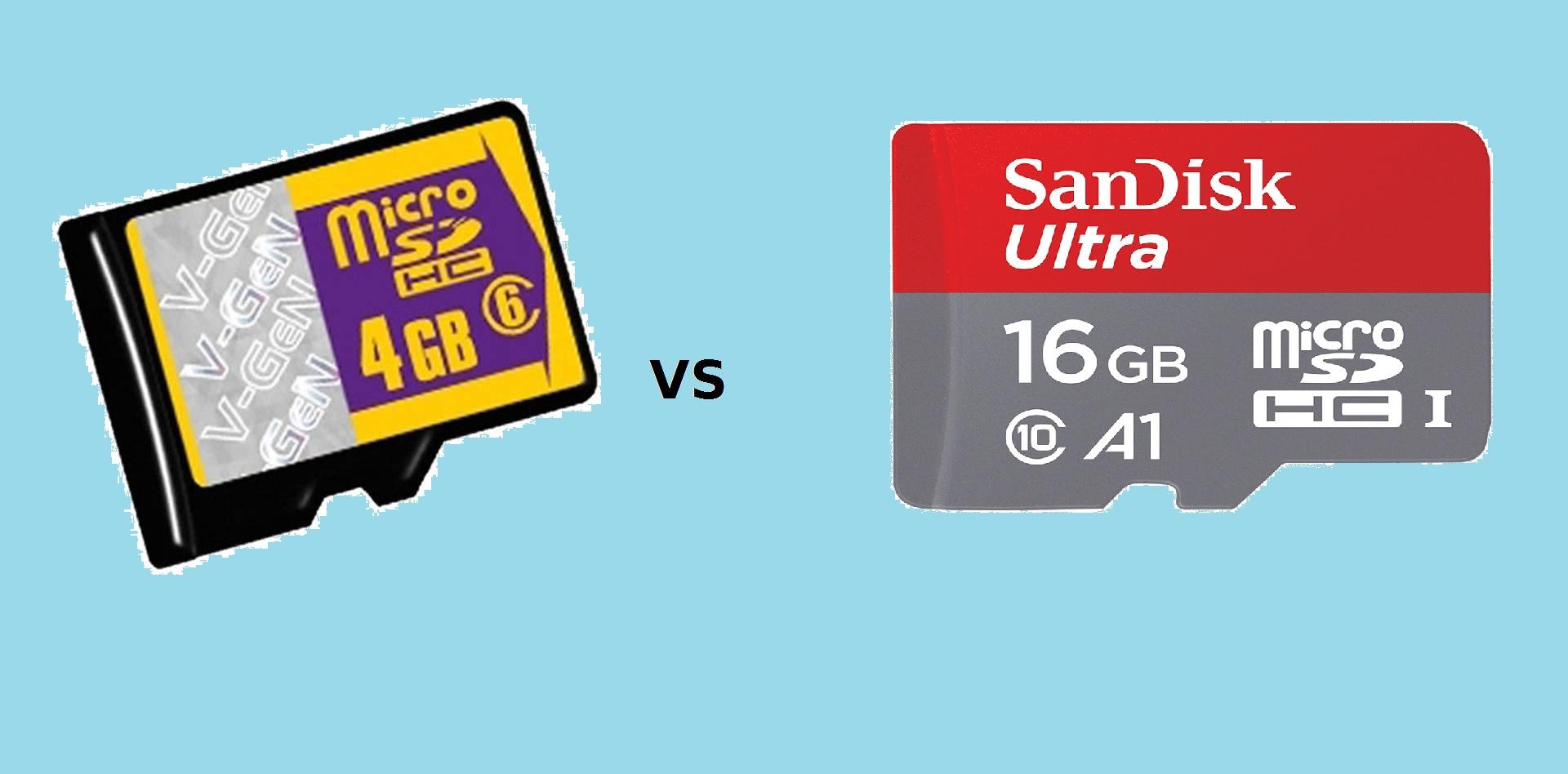 Perbedaan Micro SD Vgen Dengan Sandisk