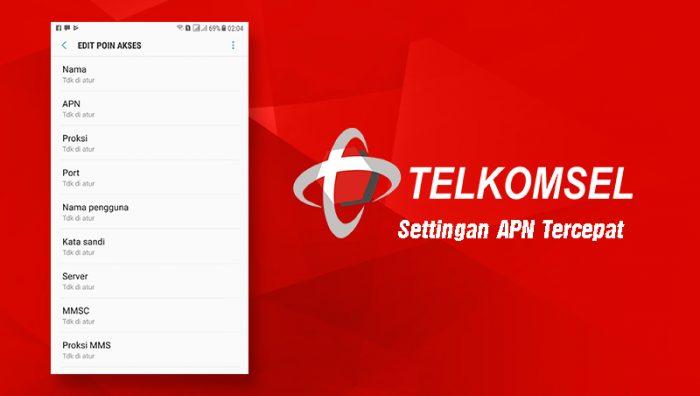 Setting APN tercepat telkomsel