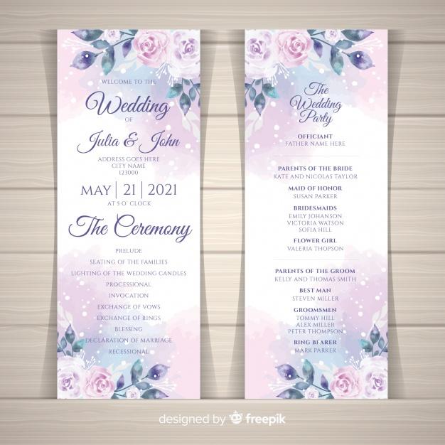Template Desain Undangan Pernikahan