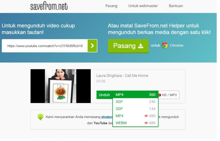 cara download video youtube tanpa idm