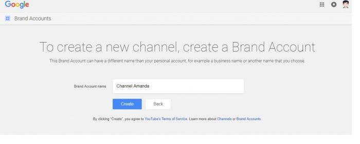 cara membuat nama channel