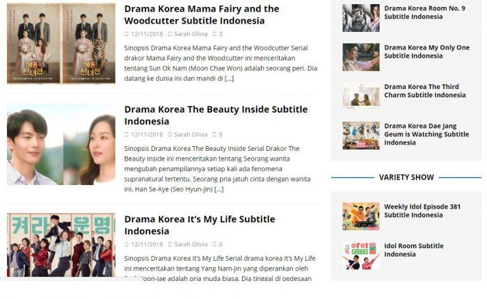 oppa drama korea full sub indonesia