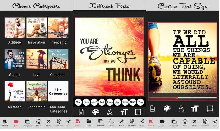 Aplikasi Edit Tulisan Kekinian di Android