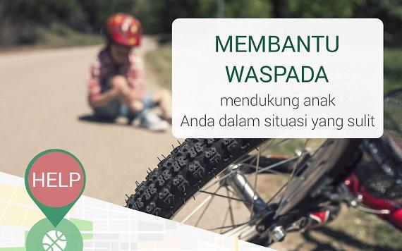 Pelacak GPS keluarga KidsControl