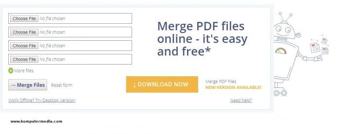 situs untuk menggabungkan file PDF