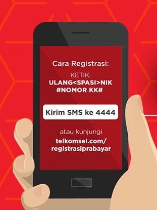Cara Registrasi Kartu Telkomsel Untuk Pengguna Lama dan Pengguna Baru