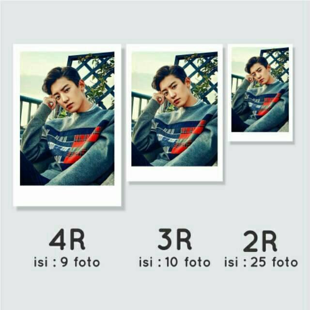 Ukuran foto 2r dalam cm, mm, inch dan pixel