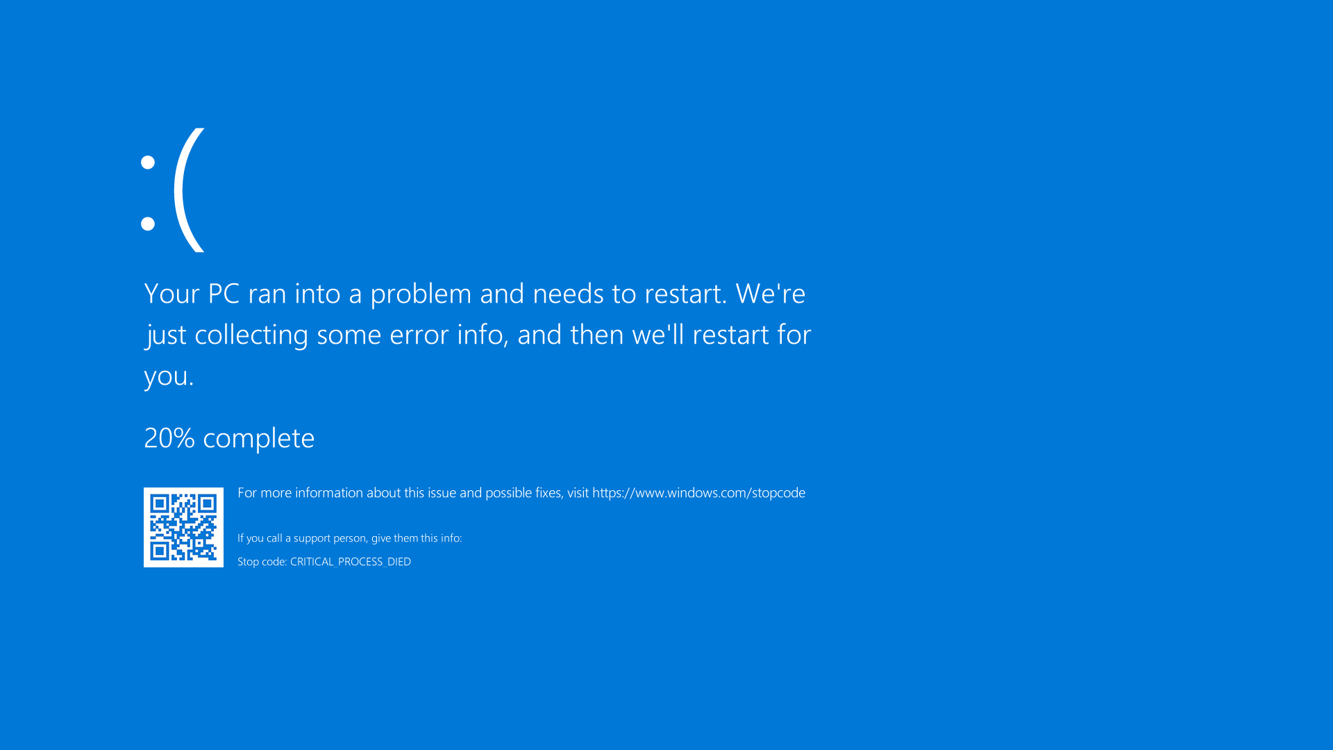 Penyebab Blue Screen Pada Windows dan Cara Mengatasinya
