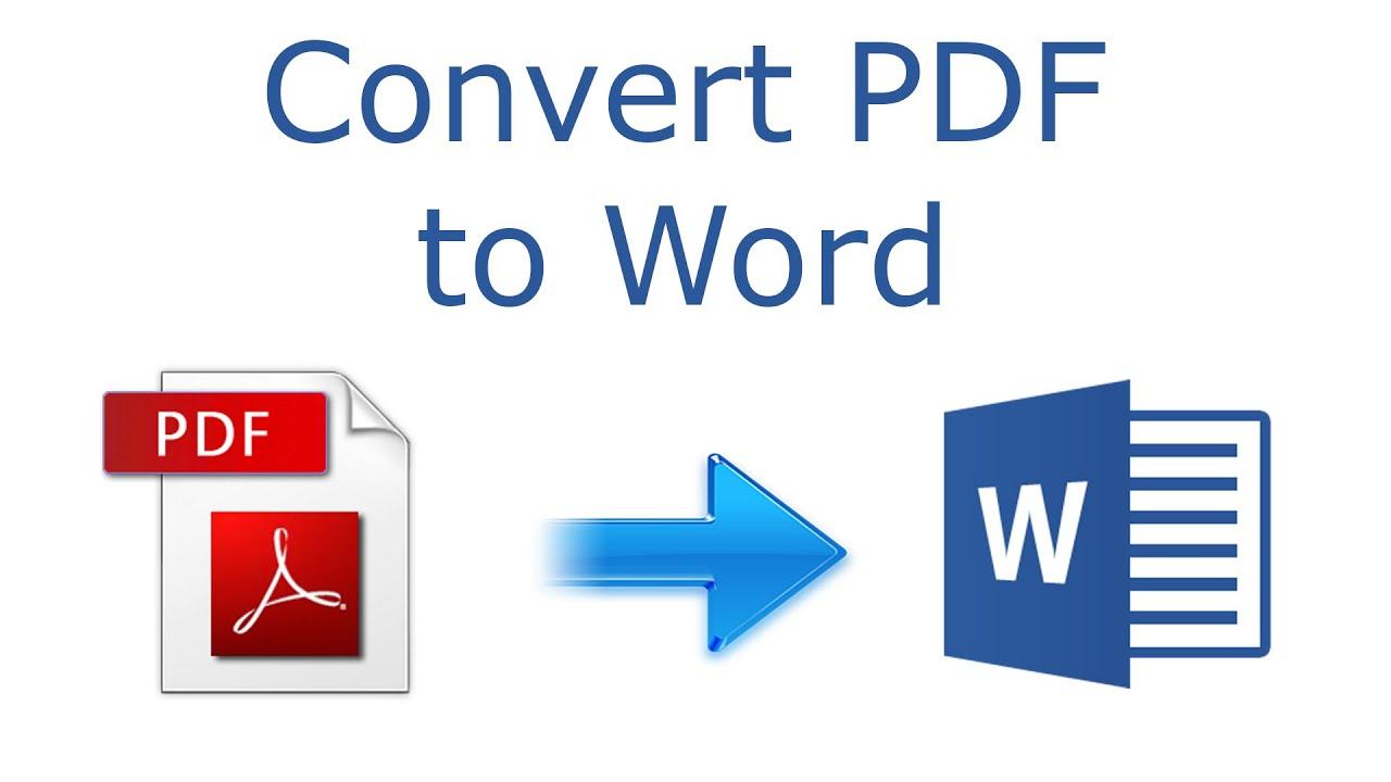 Convert PDF ke Word