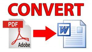 Konversi Dokumen PDF ke File DOC